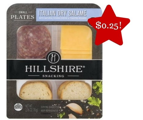 Tops: Hillshire Small Plate Snackers Only $0.25 | Grocery List Savings | Scoop.it