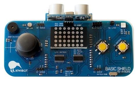 Escudo Arduino | Kiwibot | TECNOLOGÍA_aal66 | Scoop.it