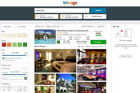 Trivago Now Offers a Free Booking Engine To Hoteliers | Travel and you will smile | Scoop.it