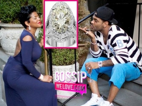 Jim Jones GOES ALL OUT For Fiancee Chrissy Lampkin; Drops $140K On A Engagement Ring & Plans To Wed Chrissy On Reality TV! ~ GossipWeLove.com Your Celebrity News and Hip Hop News Blog | CelebrityGossip | Scoop.it
