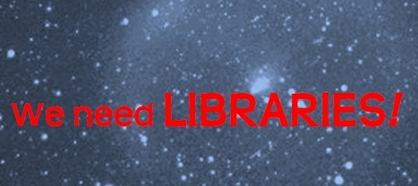 """Why Do We Still Need """"libraries""""? We Don't! 