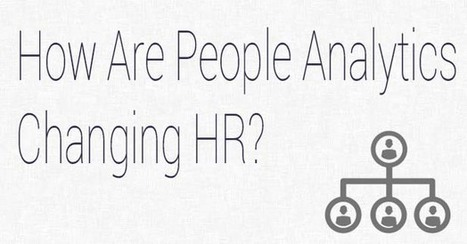 How Are People Analytics Changing HR? | Mesurer le Capital Humain | Scoop.it