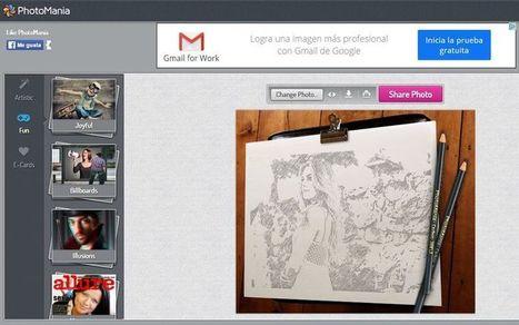PhotoMania: espectacular editor fotográfico online y gratuito   Eines i Recursos eduTIC   Scoop.it