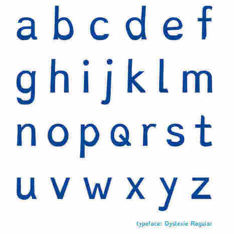 For Dyslexics, A Font And A Dictionary That Are Meant To Help | Teaching ideas. | Scoop.it