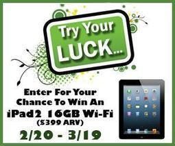 Try Your Luck Free iPad2 Giveaway 2013 - This Lil Piglet | Winning In The Bloggosphere | Scoop.it