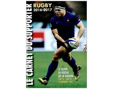 Le carnet du supporter de Rugby saison 2016-2017 | Foire à Tout | Scoop.it