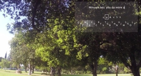 Google Glass Gets A Keyboard | Managing Technology and Talent for Learning & Innovation | Scoop.it