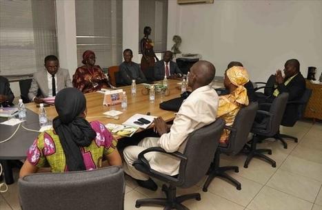 Madame le directeur général du conseil du café-cacao reçoit l ... - Abidjan.net   FILIERE CAFE CACAO EN COTE D'IVOIRE   Scoop.it