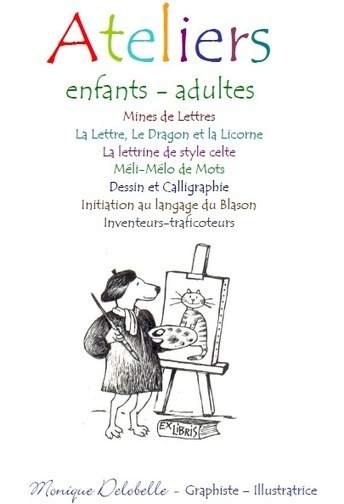 EX LIBRIS Démonstration Calligraphie et exposition d'objets d'écriture | Apprendre la calligraphie | Scoop.it