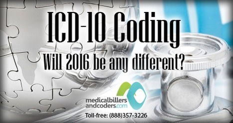 ICD-10 coding- Will 2016 be any different? | ICD-10 | Scoop.it