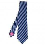 Eton Mens Navy Navy Striped Silk Tie - Ties from Psyche UK   men's ties   Scoop.it