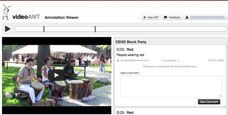 Video ANT - Annotating Videos | Flipping the classroom | Scoop.it