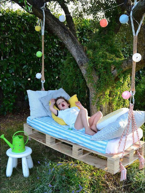 8 Awesome Outdoor DIY Projects for Kids   Handmade Charlotte   No Place Like Home   Scoop.it
