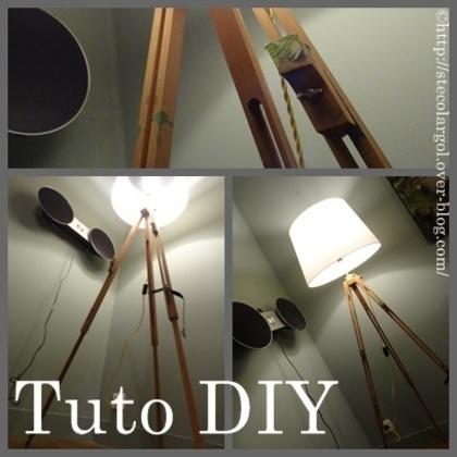 [Coup de ♥] Fabrication d'une lampe par StefetsaBelette sur le #CDB | Best of coin des bricoleurs | Scoop.it