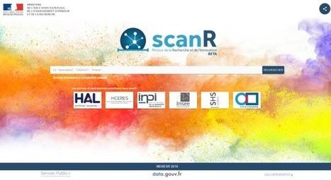 scanR : le moteur et les données de la recherche | Le blog de la mission Etalab | Recherche  & Enseignement Supérieur | Scoop.it