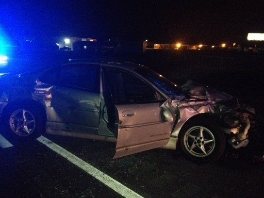Car, semi collide on I-70 in Clark Co. - WHIO D...