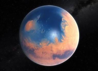 Mars : scénario sur la disparition de ses océans | Beyond the cave wall | Scoop.it