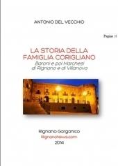 La storia della Famiglia Corigliano in un volume di Antonio Del Vecchio | Généal'italie | Scoop.it