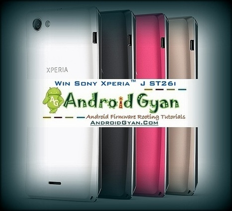 Xperia J ST26i Giveaway - Win Xperia J Free - AndroidGyan New Year 2013 Celebration | Android Gyan | Scoop.it