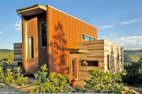 12 Homes Made From Shipping Containers - Design Milk | Avant-garde Art & Design | Scoop.it