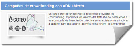 Curso online y gratuito sobre Crowdfunding   Trabajo 2.0   Scoop.it
