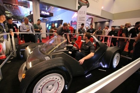 3ders.org - Meet and ride with 3D printed car Strati at NAIAS 2015 in Detroit | 3D Printer News & 3D Printing News | Heron | Scoop.it