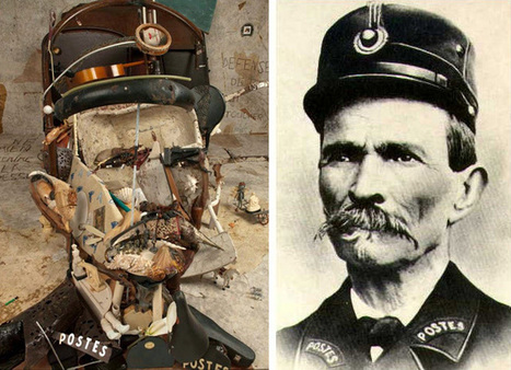 Bernard Pras Forms Incredible Anamorphic Portrait Out of Found Objects | Le It e Amo ✪ | Scoop.it