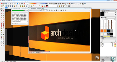 ACM Material in VRay for SketchUp | V-Ray for SketchUp Tutorial | Sketchup Style | Scoop.it