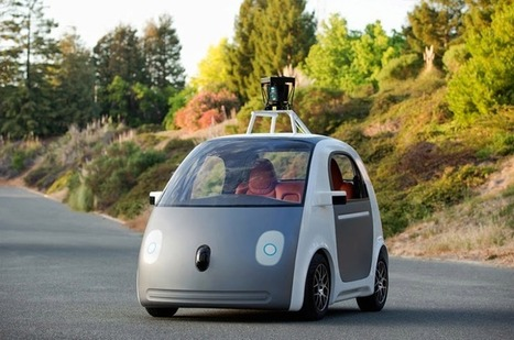 Google's new self-driving car prototype foregoes steering wheel, mirrors, & pedals | Trend Meets Function | Scoop.it