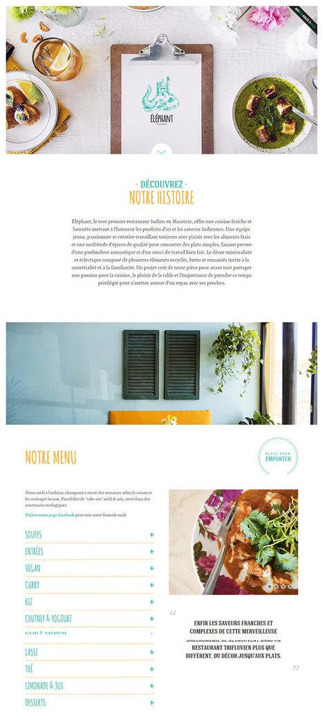 30 Great Examples Of Restaurant Website Done Right #websitedesign | WebsiteDesign | Scoop.it