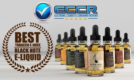 Best Tobacco eJuice: Black Note eLiquid Wins   The ECCR Blog   Scoop.it