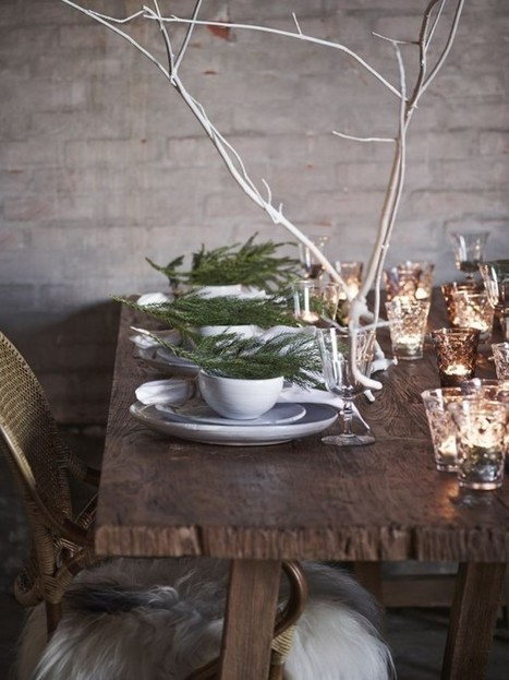 8 Best Rustic Table Settings | @FoodMeditations Time | Scoop.it