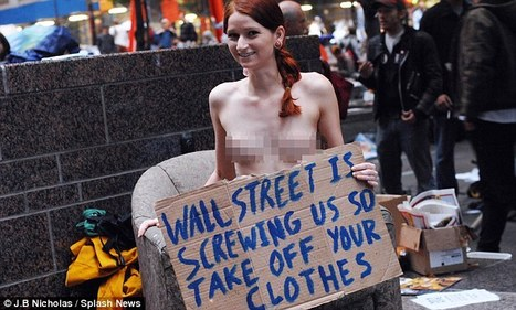 Wall Street protest hots up and George Soros warns US already back in recession | #OccupyWallstreet | Scoop.it