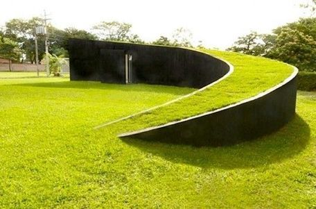 Swirling Green-Roofed Chinese Coin House Built in Accordance with Sacred Geometry   Inhabitat - Sustainable Design Innovation, Eco Architecture, Green Building - Garden Chic   Sustainable Architecture   Scoop.it