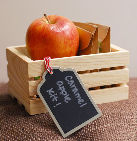 Fall Fun: How to Make a Caramel Apple Kit in 6 Easy Steps | Eye Spy DIY | Scoop.it