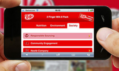 Nestlé launches smartphone nutritional label scanning | Snacks and sweets | Scoop.it