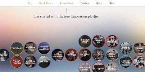Filmmaker Ken Burns Launches iPad App of Legendary Documentaries | EBooks & Libraries | Scoop.it