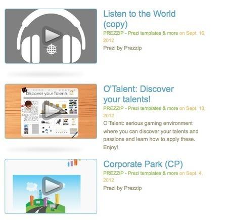 Prezzip - Prezi workshops single pack | prezi Nederland | Scoop.it