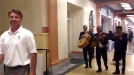 Students hire mariachi band to follow principal around | interlinc | Scoop.it
