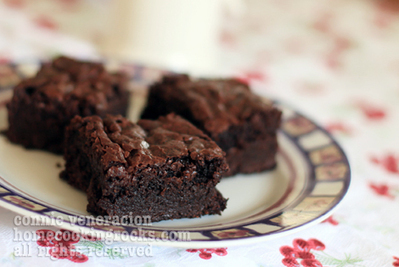 The secret to chewy, fudgy brownies   Brownies Recipes   Scoop.it