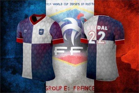 Des maillots alternatifs pour la Coupe du Monde de Football ! | Sport Digital | Scoop.it