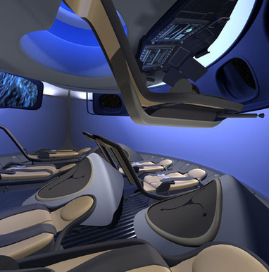 Boeing, Bigelow Show Off Interior of CST-100, Commercial Space Habitat | Parabolic Arc | Space matters | Scoop.it