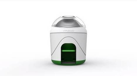 Foot-powered washing machine lets you clean your clothes off grid | Sustain Our Earth | Scoop.it