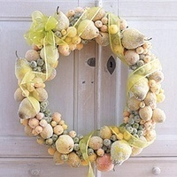 Great Alternatives to the Traditional Door Wreath - Lavenderworld | Lavender | Scoop.it