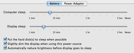 Battery Saving Tips For Mac Notebooks | The Mac Lawyer | Scoop.it