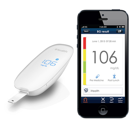 iHealth Lab unleashes glucose monitor that syncs with mobile devices | Collective Intelligence & Distance Learning | Scoop.it