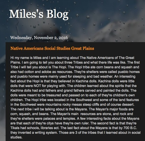 Miles's Blog | OHE Student Blogs!! | Scoop.it