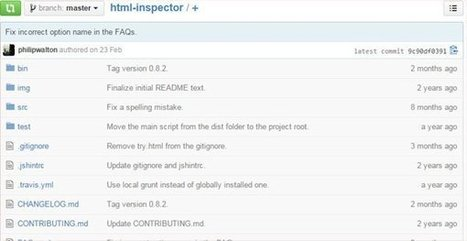 HTML Inspector: A Code Quality Tool To Enhance Markup Quality | Open Source Software Development Services | Scoop.it
