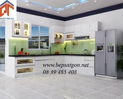 bepsaigon.net - Tủ bếp khuyến mãi - | Tủ bếp Acrylic - MFC | Scoop.it