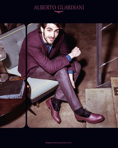 VEGA RUBBERIZED BORDEAX LEATHER OXFORDS - Alberto Guardiani | Le Marche & Fashion | Scoop.it